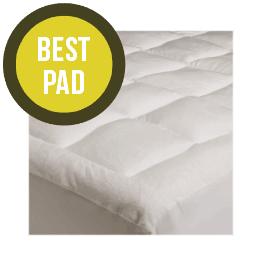 extra plush rayon bamboo fitted mattress topper