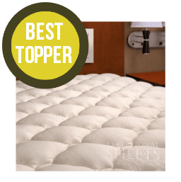 best firm mattress topper Best Mattress Topper Reviews 2019   Buyers Guide | The Sleep Judge best firm mattress topper