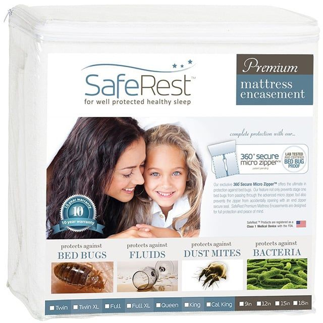 Queen SafeRest Premium Mattress Encasement
