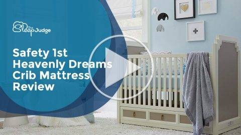Safety First Heavenly Crib Mattress Video Review