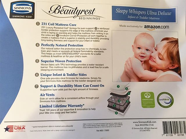 simmons beautyrest beginnings sleepy whispers review the sleep judge