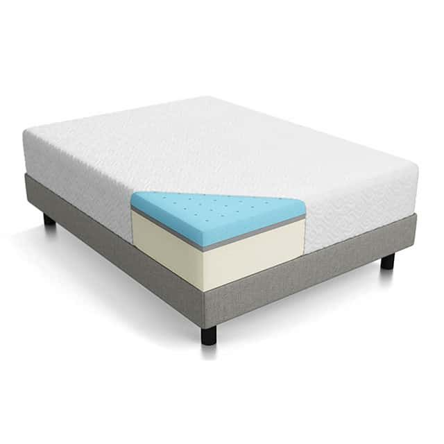lucid 12 inch gel memory foam mattress Lucid 12