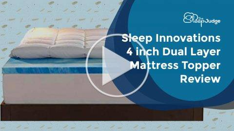 Sleep Innovations 4 inch Mattress Topper video review
