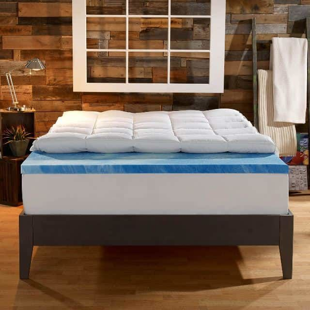 Sleep Innovations 4 Inch Dual Layer Mattress Topper Review The