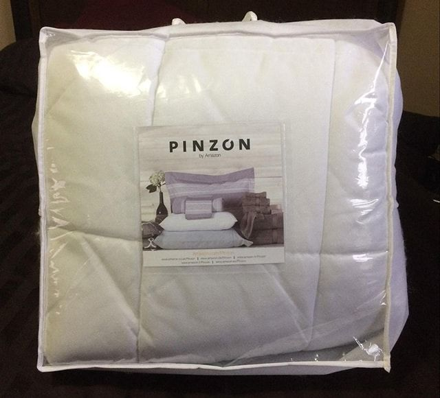 Pinzon Overfilled Micro-Plush Mattress Pad Review