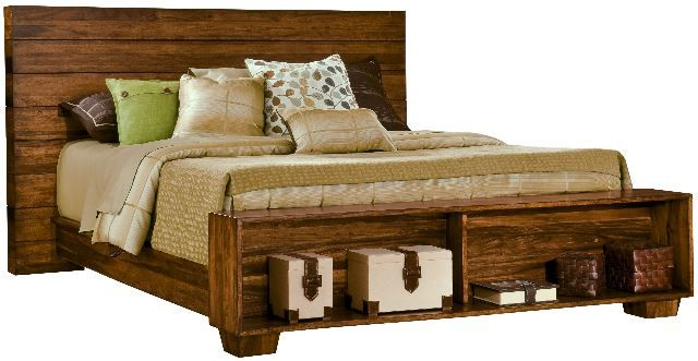 learn more here - Wood Frame Bed