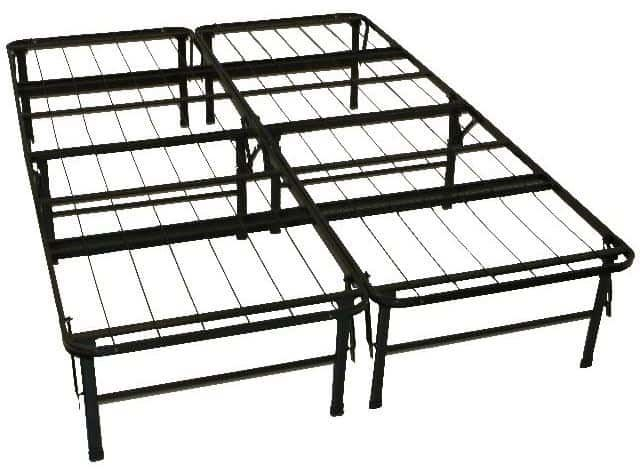 metal frames are very common and very inexpensive they dont really have the pizazz of wooden bed frames but they are much lighter and easier to move - Inexpensive Bed Frames