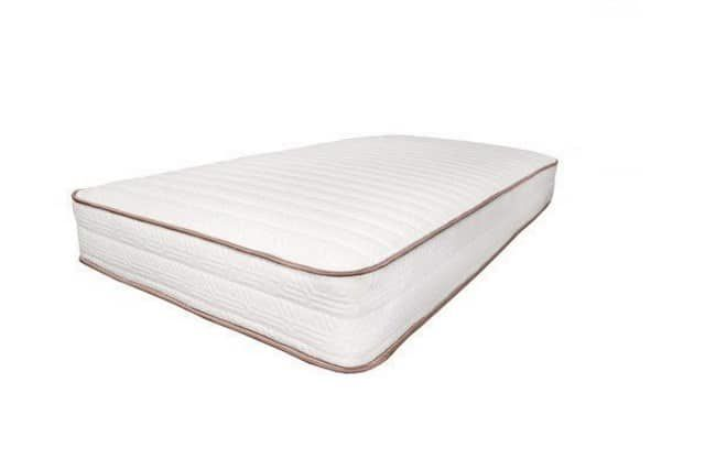 Mattress made of natural fibers, Latex and Wool.