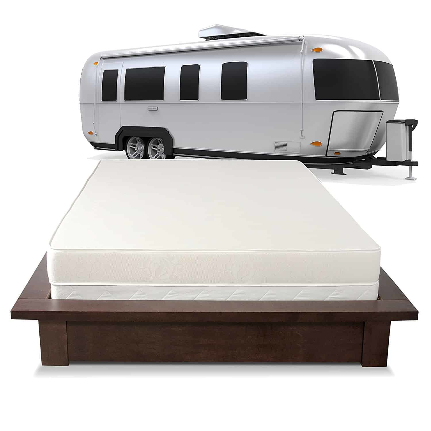 size today free mattress queen top deluxe pillowtop short pocketed dimensions product home priage overstock pillow garden shipping spring rv