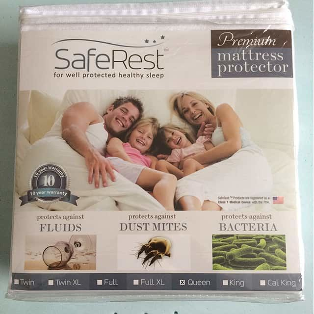 Saferest Premium Mattress Protector Review The Sleep Judge