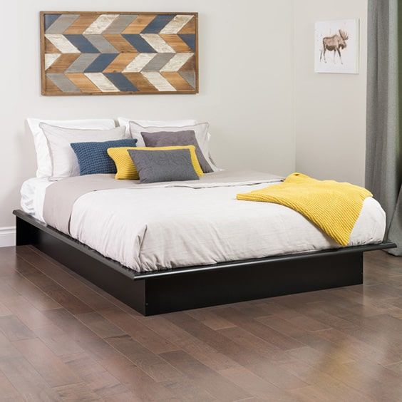 Platform Bed Bedroom Ideas Part - 46: 7. As Simple As It Gets