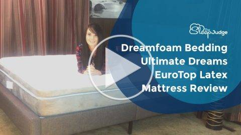 Dreamfoam Bedding Ultimate Dreams EuroTop Latex Mattress Video Review