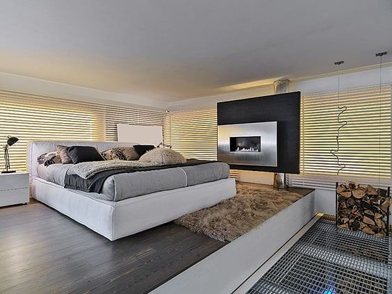 Modern Bedroom Ideas And Design For The Creative Mind - Wall drop design in bedroom