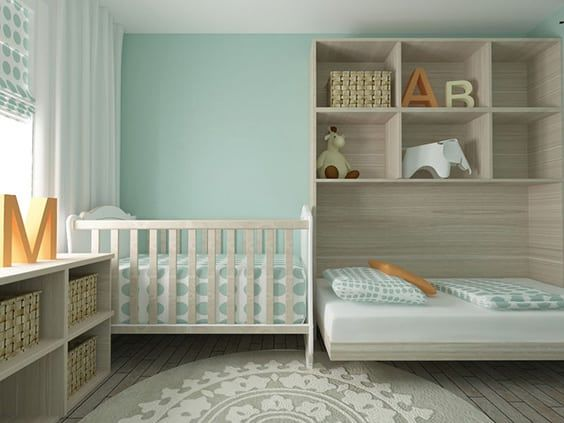 Bedroom Wall Storage. This is a very unique bedroom layout and it works well for siblings  who still share room Notice how there storage above the bed 63 Bedroom Storage Ideas Design