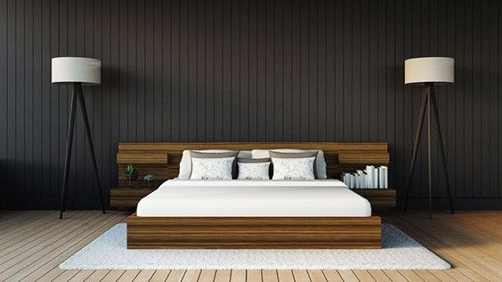This Minimalistic Modern Bedroom Is The Ideal Space For Those Who Like To  Keep Things Neat And Tidy. As You Can See, Thereu0027s Very Little In This  Room, ...