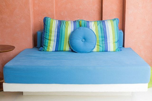 The Color Look Style This Daybed Is Funky From Top To Bottom And Scheme Makes It An Awful Lot Like Belongs Besides Seaside