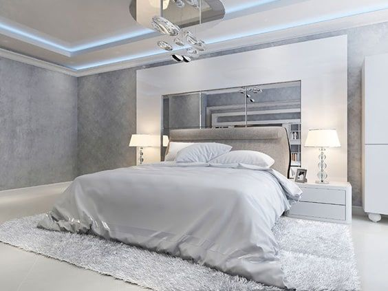 excellent huge modern master bedroom | 64 Grey Bedroom Ideas and Design - With Pictures | The ...