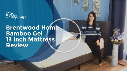 Brentwood Home Bamboo Gel 13 Inch Mattress Video Review