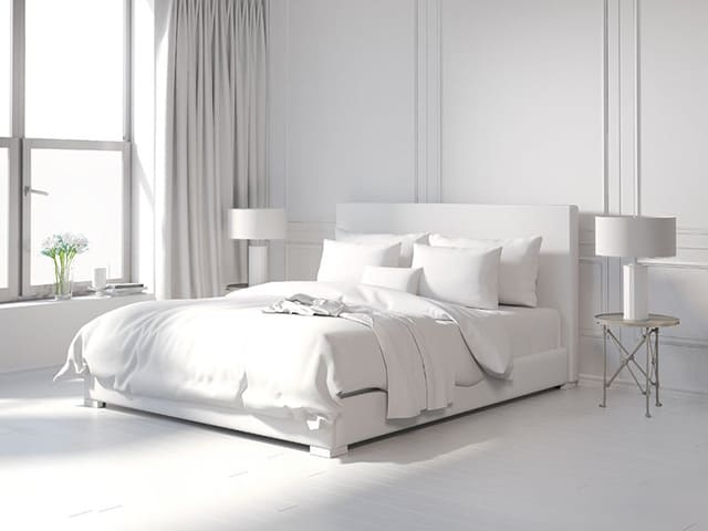 40 Amazing AllWhite Bedroom Ideas The Sleep Judge Magnificent White Bedroom