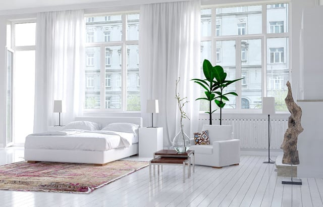 Bedroom Ideas All White 54 amazing all-white bedroom ideas