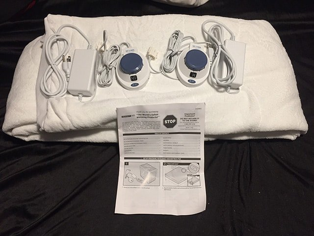 Soft Heat Electric Heated Mattress Pad Review The Sleep