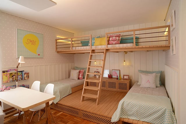 35 mezzanine bedroom ideas the sleep judge for Dormitorio 3x3