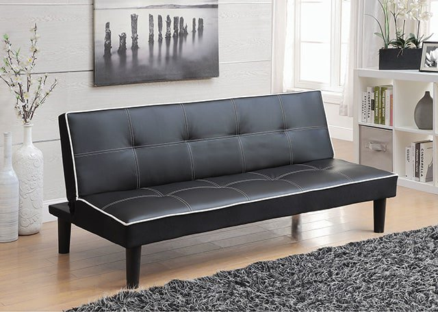 13 ailith leather sleeper sofa