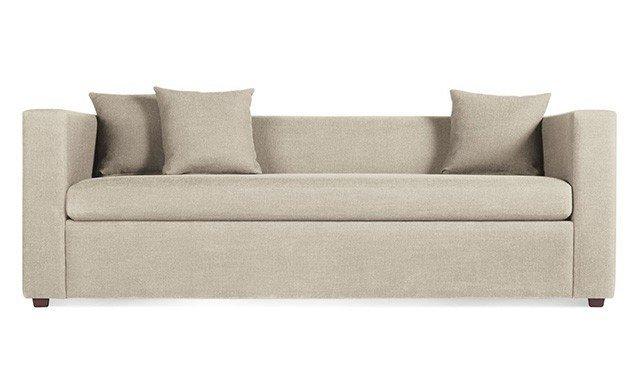 3 blu dot modern mono sleeper sofa