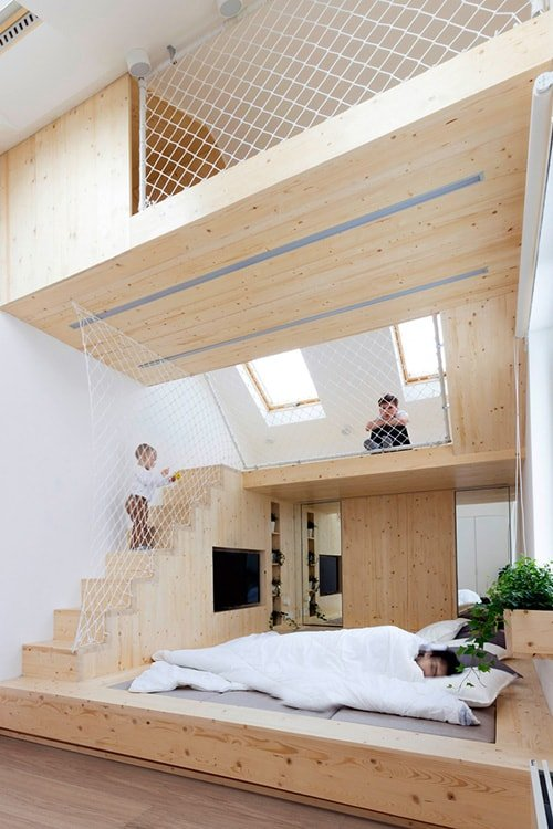 35 Mezzanine Bedroom Ideas | The Sleep Judge