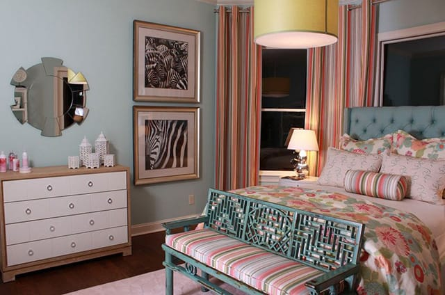 retro bedroom design. 3  Greyed Pastels 18 Retro Themed Bedroom Design Ideas