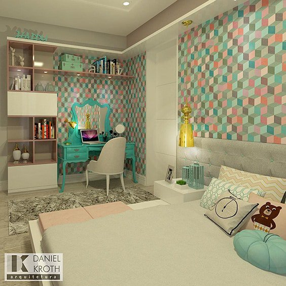 9x9 Bedroom: 18 Retro Themed Bedroom Ideas