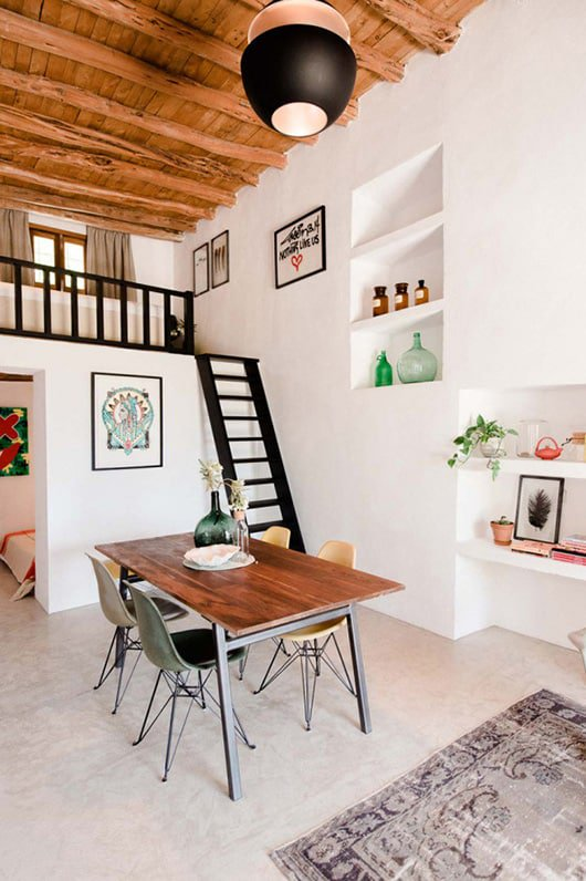Modern Loft - 47+ Limited Space Mezzanine Design For Small House Background