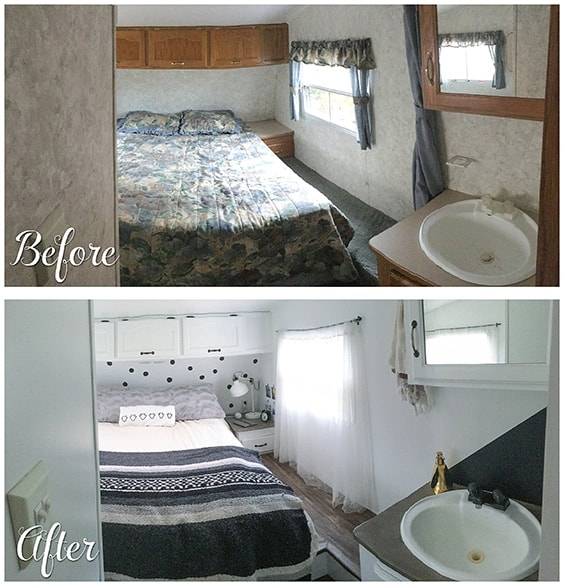 Awesome Bedroom Makeovers - Before And After Pics