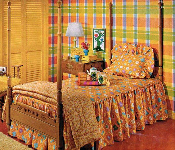 Retro Bedroom Design Ideas Bedroom Ideas Grey And Red Bedroom Decor Posters Country Bedrooms For Girls: 18 Retro Themed Bedroom Ideas