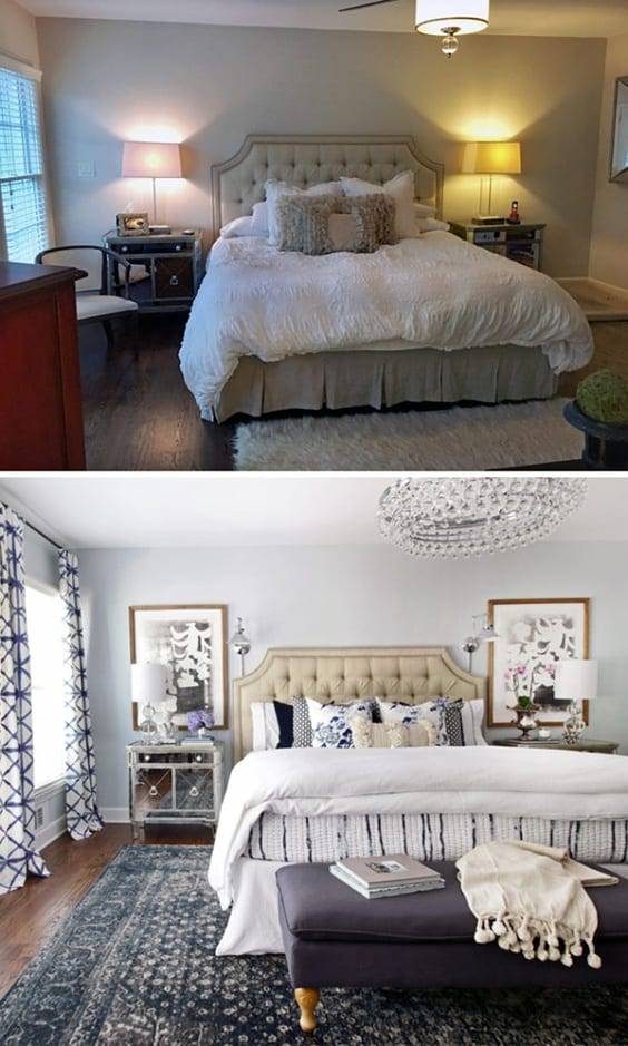 Awesome Bedroom Makeovers - Before and After Pics | The Sleep Judge