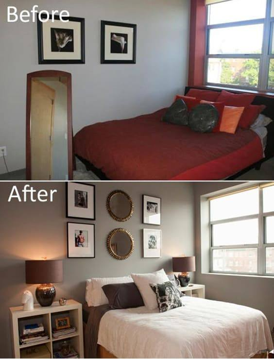 Master Bedroom Makeover After: Awesome Bedroom Makeovers - Before And After Pics