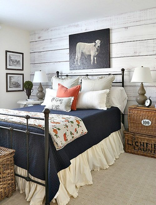 68 Rustic Bedroom Ideas That'll Ignite Your Creative Brain ...