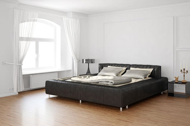 Minimalist Bedroom Design minimal bedroom get inspired by minimal bedroom designs minimalist bedroom design ideas with concrete color schemes Black And Silver Seems To Be A Common Color Among Mens Bedrooms The Combination Is Dark Yet Sophisticated This Room Has That Beautiful Black Bed With