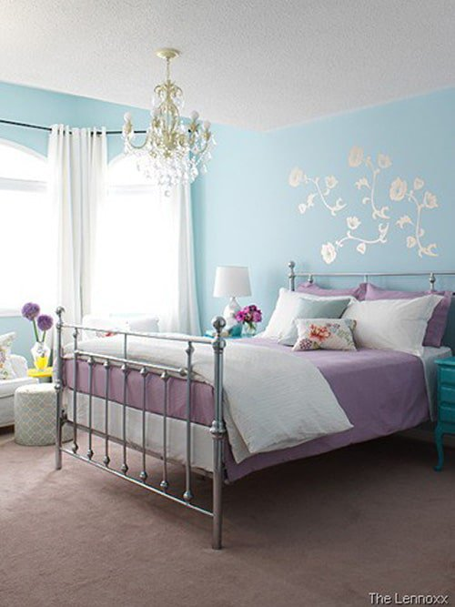 28 Nifty Purple And Teal Bedroom Ideas The Sleep Judge