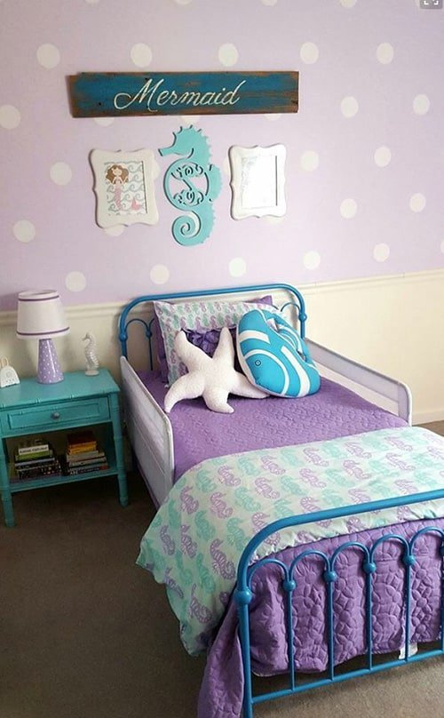 28 nifty purple and teal bedroom ideas the sleep judge 13015 | mermaid themed