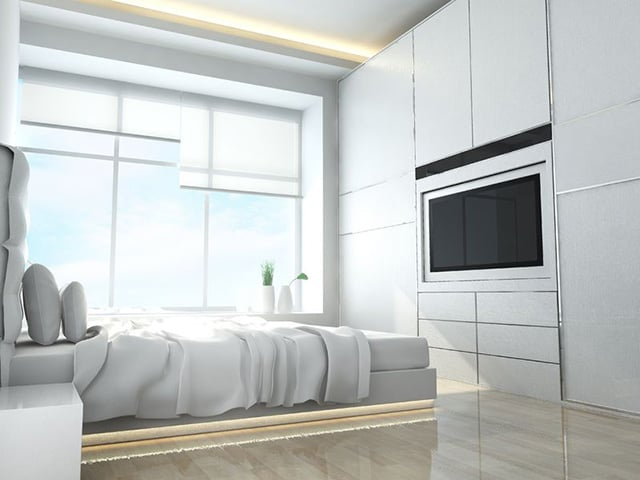 charming minimalist bedroom design | 48 Minimalist Bedroom Ideas For Those Who Don't Like ...