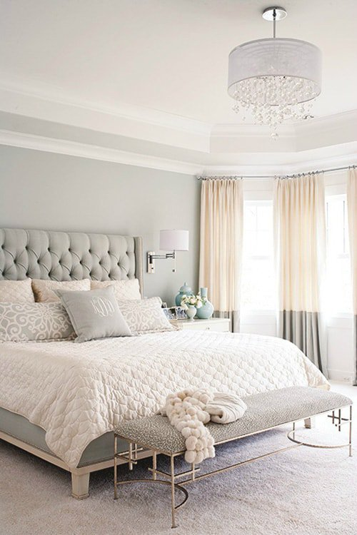 35 Spectacular Bedroom Curtain Ideas | The Sleep Judge