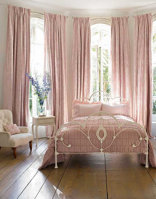 35 Spectacular Bedroom Curtain Ideas - The Sleep Judge