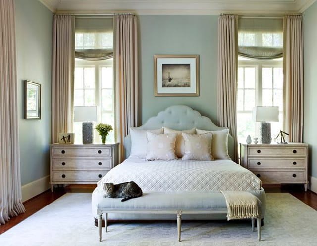 35 spectacular bedroom curtain ideas the sleep judge. Black Bedroom Furniture Sets. Home Design Ideas