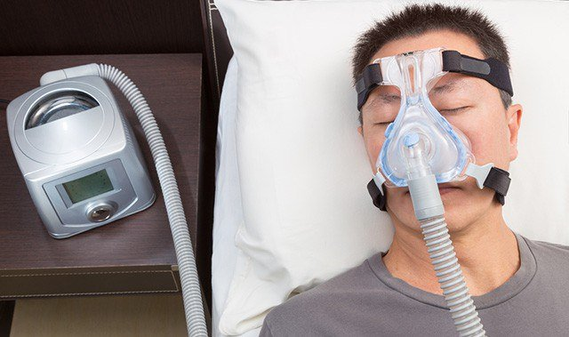 how to get used to cpap machine