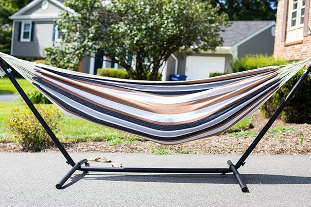 ideas usa stand with backyard hammocks a made in hammock best hang up unique to stands design pergola indoor how outdoor small tripod