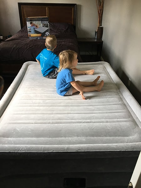 Intex Comfort Plush Elevated Dura Beam Airbed Review The