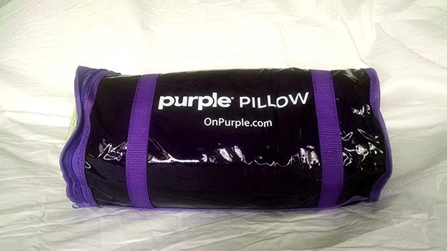 Purple Pillow Review Comfort Control All Night Long The