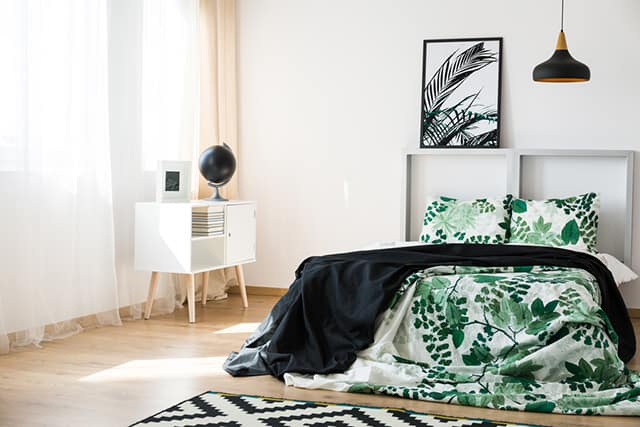 48 Of The Most Spectacular Green Bedroom Ideas The Sleep Judge Cool Green And Black Bedroom