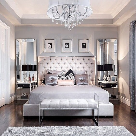 Glamorous Bedroom Ideas Decorating 3 Unique Inspiration Design